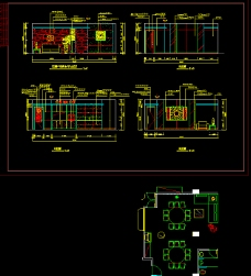 大酒店4层建筑图纸CAD素材