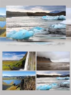 冰岛度假旅游野外风光实拍视频延时
