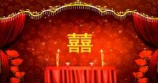 中式婚礼拜堂