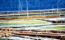 抽象装饰画 油画图片