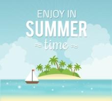 夏季度假岛屿图片