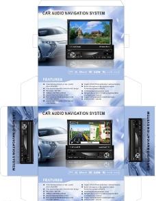 车载导航包装图片