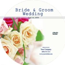 英文婚礼碟面图片