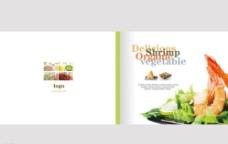 精美食品宣传画册封面设计图片