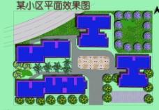 平面 效果 绿化 广场 绿地图片