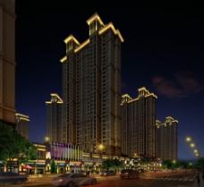 建筑景观照明图片
