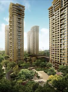 建筑效果图景观图片