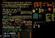 CCD设计CAD图层标准平立面图片