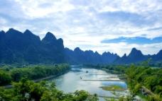 桂林草坪乡刘家埠山水图片
