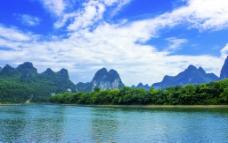 草坪回族乡漓江山水图片
