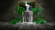 背景墙视频素材