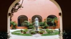 喷泉建筑视频素材
