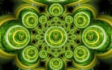 竹子圆圈形状图片
