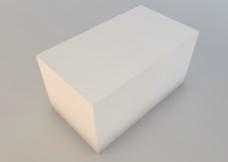 空白高档包装盒图片