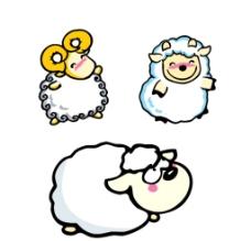 可爱的绵羊图片