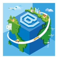 互联网 游戏 地球图片