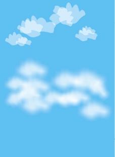 用cdr画白云图片