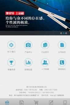 手机网站模板 微信网站图片