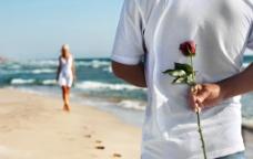 海边爱情非主流图片