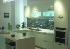 整体橱柜 厨房摄影 实木橱柜图片