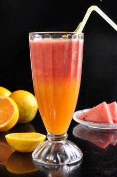 西瓜汁图片