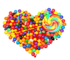 糖果背景图片