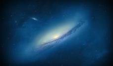 银河 宇宙 辽阔图片
