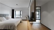 精致现代设计卧室效果图
