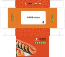 紫菜包饭包装盒图片