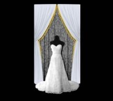 婚礼装饰区效果图图片