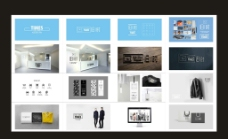 服饰装卖店装修品牌设计VI图片