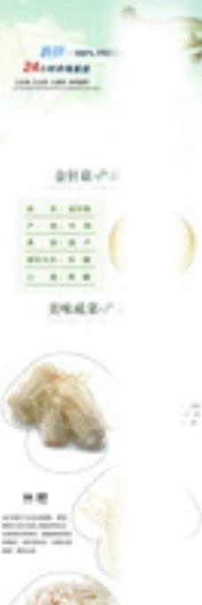 金针菇美工设计图片