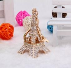 埃菲尔铁塔钥匙扣图片