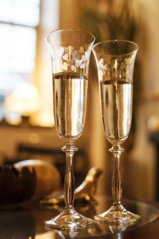 唯美香槟图片