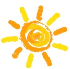 太阳 简笔画 卡通图片