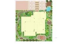 小花园设计图片
