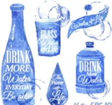 酒水饮料酒杯图片