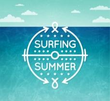 夏日冲浪 海报图片