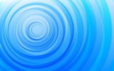 蓝色光波背景图片