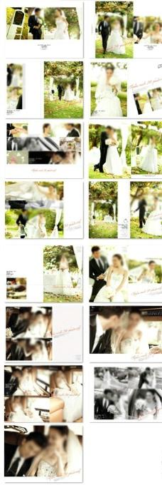 韩风唯美婚纱模板图片