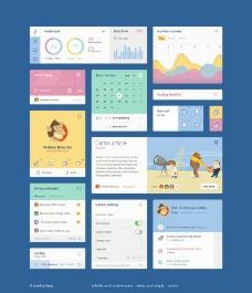 国外卡通UI界面图片