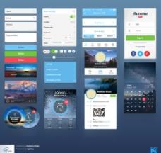 国外UI界面图片
