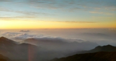 太白山日出图片