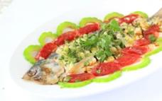 腊肠蒸鱼图片