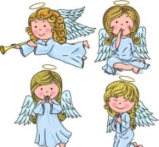 小天使素材图片