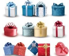 各种节日礼盒素材图片