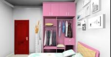 实木衣柜设计效果图片
