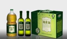 橄榄油包装(展开图)图片