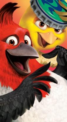 红色鹦鹉图片