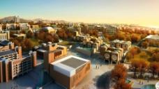 建筑鸟瞰效果图图片